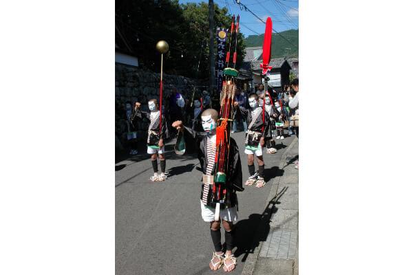 Kinomoto-Jinja Shrine Regular Festival