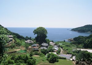 熊野古道 波田須の道