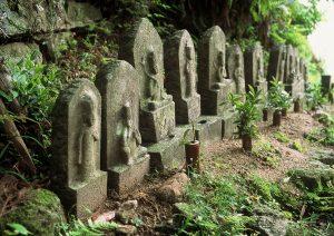 熊野古道 観音道(大泊町側登り口①)