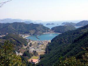 熊野古道 始神峠(三浦側登り口)