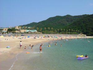 城の浜海水浴場