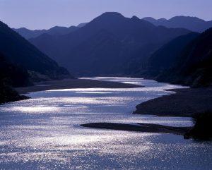 川の参詣道(熊野川)
