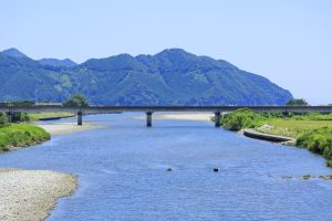 Tour with the Choshi River Guide Miraculous Clear Stream Choshi River